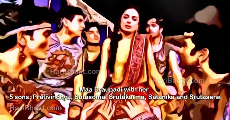 Ashwatthama killed sons of draupadi mahabharat