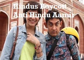 Boycott Bollywood Hindi Movie : PK movie controversy anti Hindu film