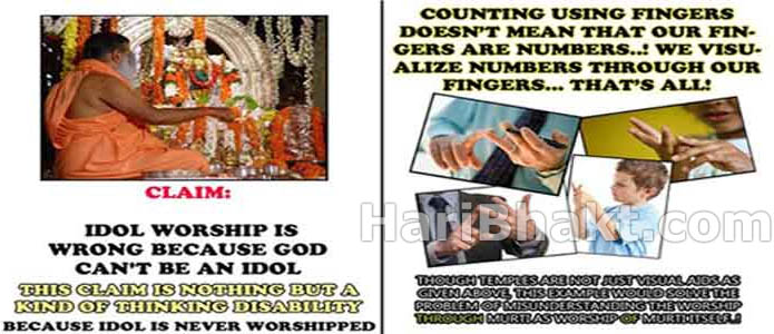 What is Hindu Science behind idol worship