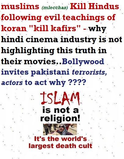 anti Hindu bollywood dominated by muslims