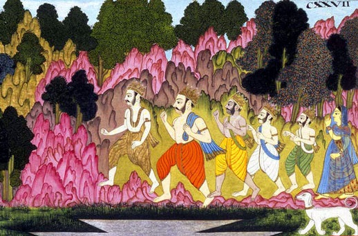 end of pandavas and final yaksha question