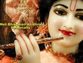 Halwai Sweet Maker Met Bhagwan Krishna Personally Incident