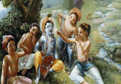 Krishna even today roams in Vrindavan as a cowherd