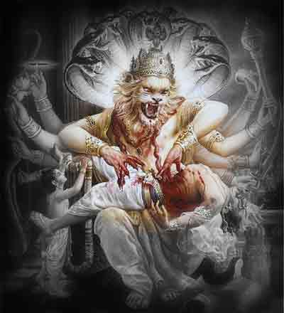 Like Narsimha Killed Hiranyakashyap, Hindus Should Kill Non-Hindus Who Speak Against Hinduism, Hindu Unity And Hindu Gods