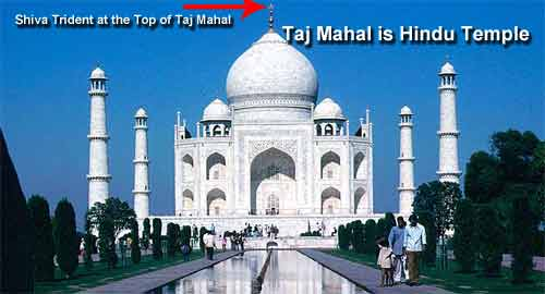 Shahjahan was incest terrorist - Hindu temple tejo mahalaya converted to Taj Mahal by him