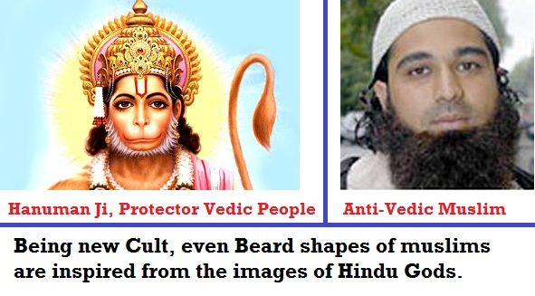 hameless stealings of Hindu God images, rituals by muslims and islam