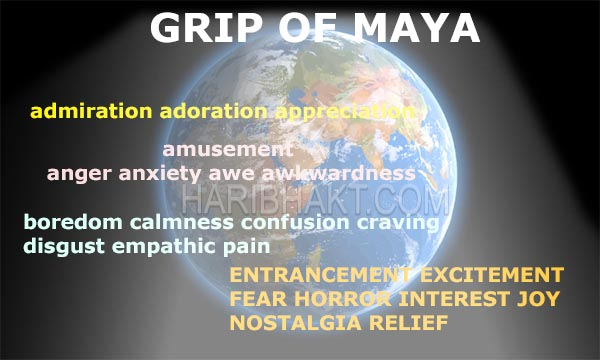 Vedic Soul: Maya evokes emotions control human nature to deprive from Vedic knowledge about soul and consciousness