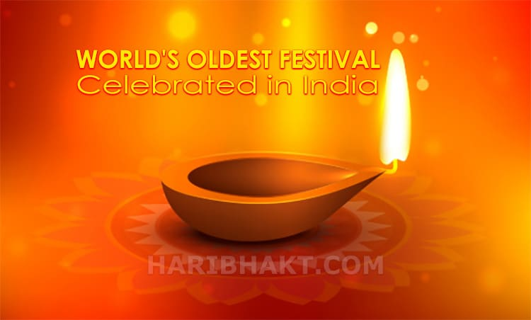 world's oldest festival and tradition in India is diwali (deepawali)