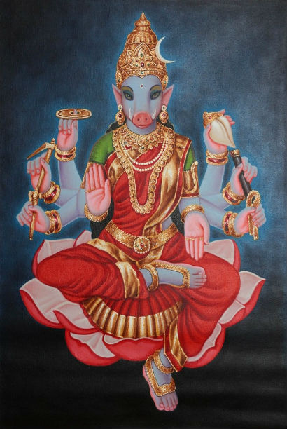 goddess varahi in buddhism