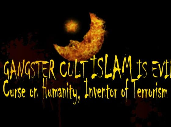 gangster cult islam is evil spreads terrorism thro ummah and darul islam concepts