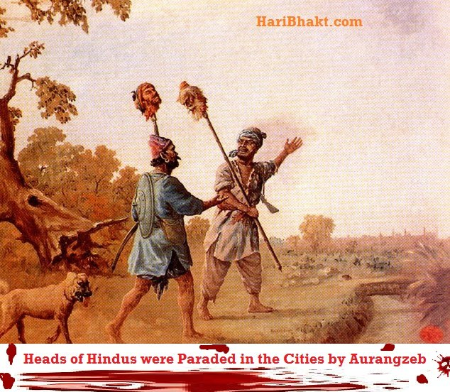 Hindus get united and aggressive so that no aurangzeb can rise again