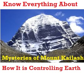 Stunning Fact: Kailash Mansarovar Range, Abode of Bhagwan Shiv Is Indeed Made By Gods Themselves