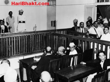 Nathuram Godse Ji in court trial - His Statement in Court
