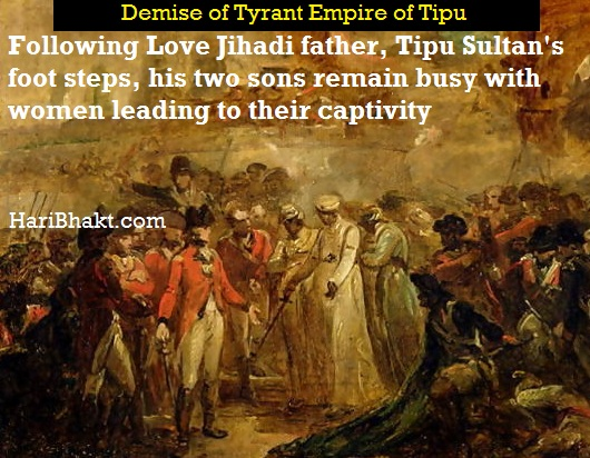women, drinks led to demise of tipu sultan