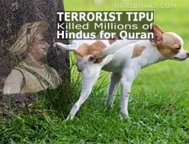 terrorist tipu killed hindus destroyed temples