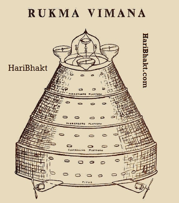 Rukma vimana found in ancient India: Vedic guide on aeroplanes