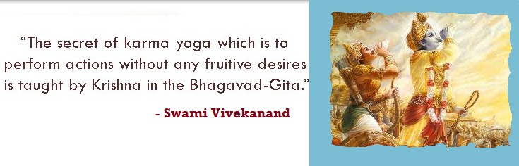 Swami Vivekanand on Karma Yoga and Gita