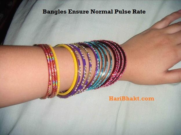Why allow Vedic ritual of wearing bangles for normal pulse rate ? Check the reason