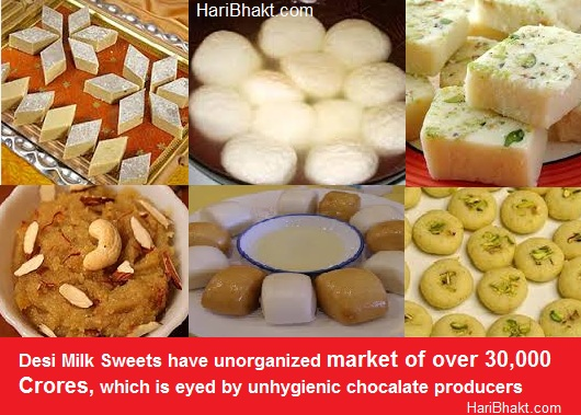 Cow Protection Article: hygienic desi milk products