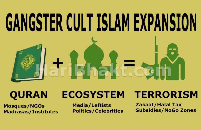 Islam is not religion it is anti-human gangster cult