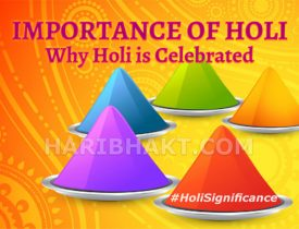 Holi History and Story: Holi Festival Importance and Significance