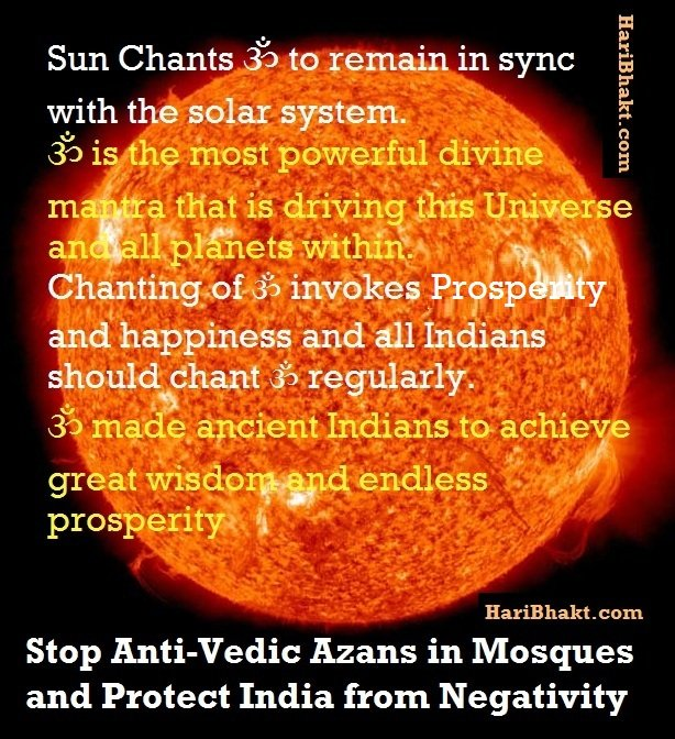 Chant ॐ (Om) Daily Stop loudspeakers from emitting anti-Vedic azans by mlecchas in mosques of India