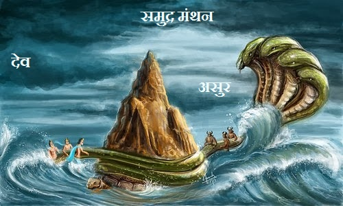 Samudra Manthan - Amrit and Poison