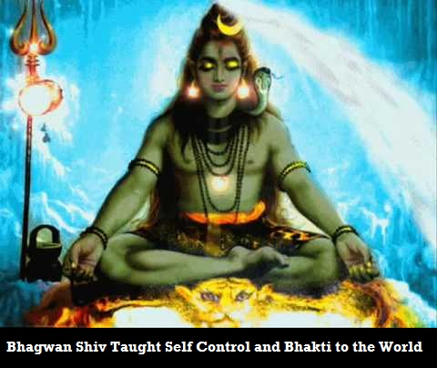 Bhagwan Shiv Self Control and Penance Teacher