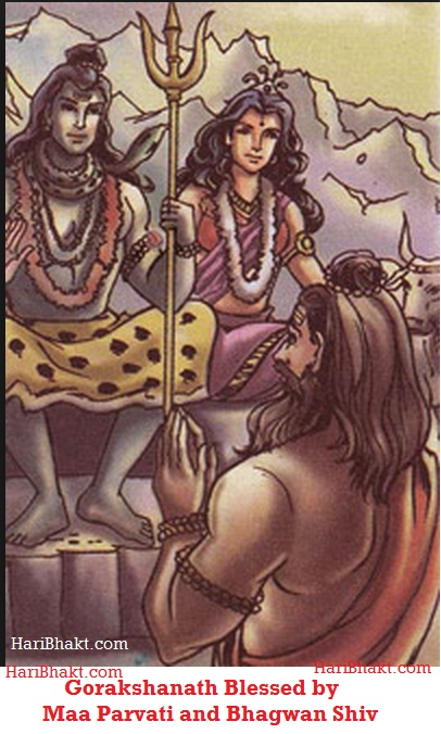 Maa Parvati Gave Chola made from her blood to Gorakshanath and Saffron became clothing for all Sadhus, Naths and Sages