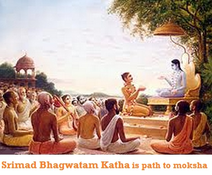 Listen to Sriamad Bhagwatam to release yourself from the cycle of rebirth impelled by the law of karma