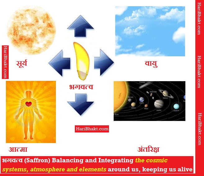 भगवत्व - Meaning and Power of Saffronization ruling the Universe