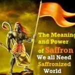भगवा saffronization of world is needed for peaceful and pious world