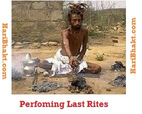 Naga performs own last rites - shraddh and pinddaan