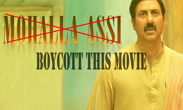 boycott bollywood hindi movie mohalla assi.