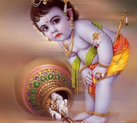 Krishna has no beginning and end - He is eternal