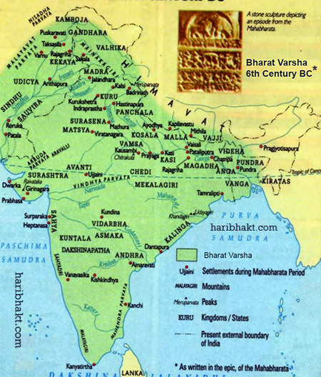 6th Century BC India Mahabharat Era