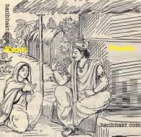 Birth of Pandavas with Vedic mantras and Kunti