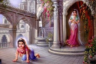 Birth of Radha Rani Companion of Shree Krishna