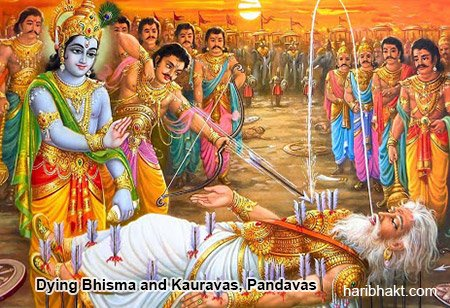 Interesting facts of Mahabharata: Dying Bhisma Pitamah Mahabharat