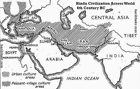 Hindu Civilization Spread Across World