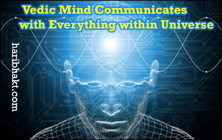 Vedic Model of Consciousness: Human Brain Waves communication with planets and earth