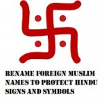 Change all muslim city names to Hindu names