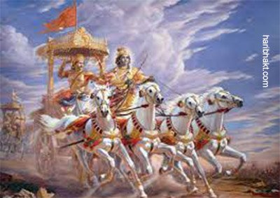 Shree Krishna with Arjun