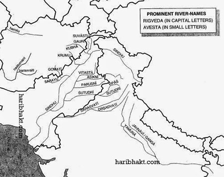 Vedic Rivers Long Known to Bharat