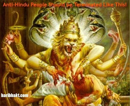 Kill All Anti-Hindu People