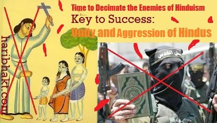 Kill terrorists and conversion missionaries