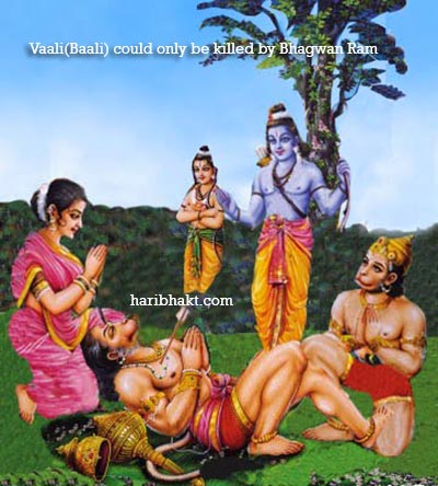 Ram Killed Vaali-Baali to Restore Dharma in Kishkindha