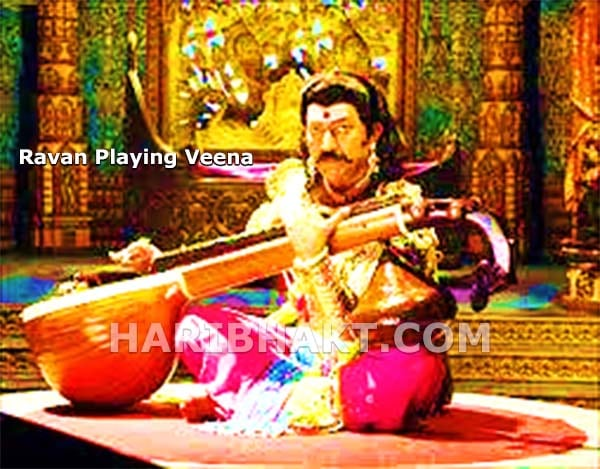 Ravana playing veena, Brahmin of Shastras and Siddhis