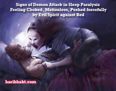 demon ghost attack sleep paralysis