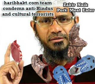 Cultural Terrorists of India - Son of a pig Suar Zakir Naik